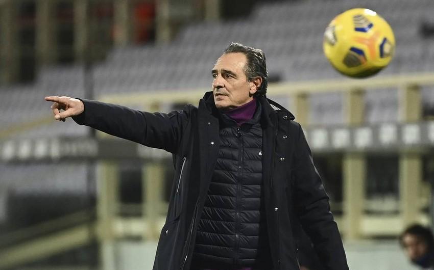 İtaliya klubu Prandellinin istefaya göndərildiyini açıqladı