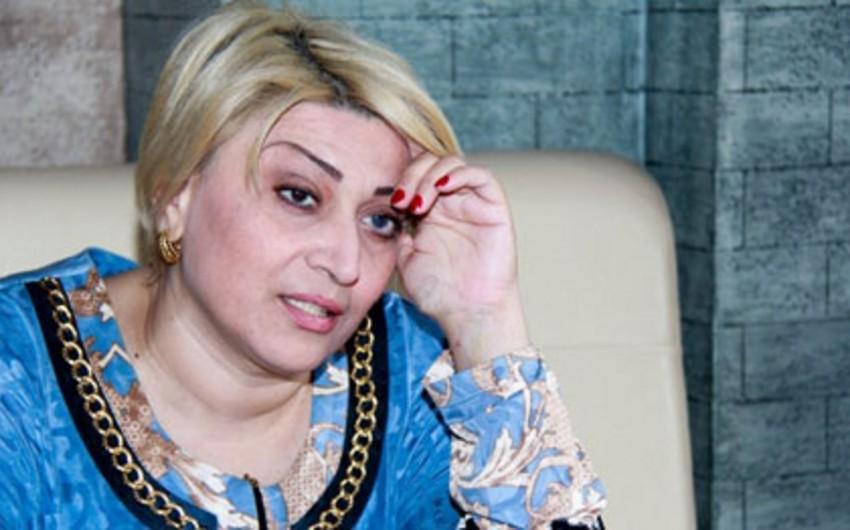 Xanım Qafarovanın anası xəstəxanaya yerləşdirilib