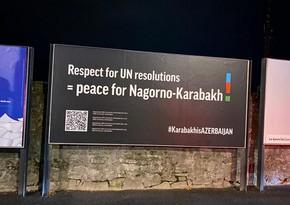 Азербайджанцы провели в Женеве креативную акцию