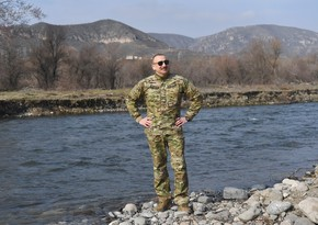 Президент Азербайджана: Лачинский коридор находился под нашим обстрелом