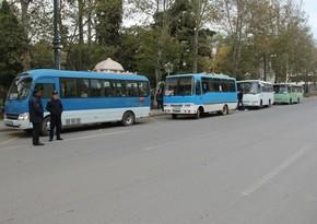 В Азербайджане общественный транспорт не будет работать 3 дня подряд