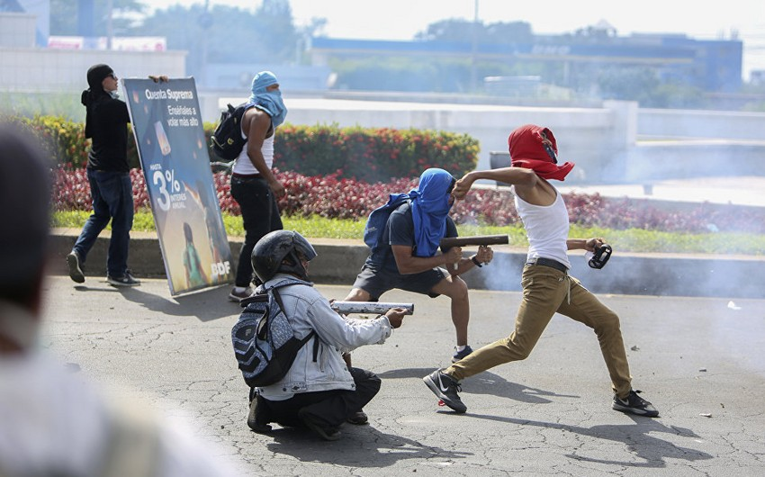 Nikaraquada iğtişaşlar zamanı 3 nəfər ölüb
