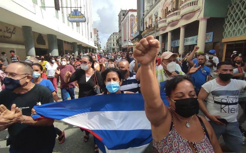 Kubada 30 il sonra etiraz aksiyaları keçirilir