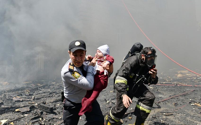 Köməyə birinci polislər çatdılar - MƏQALƏ