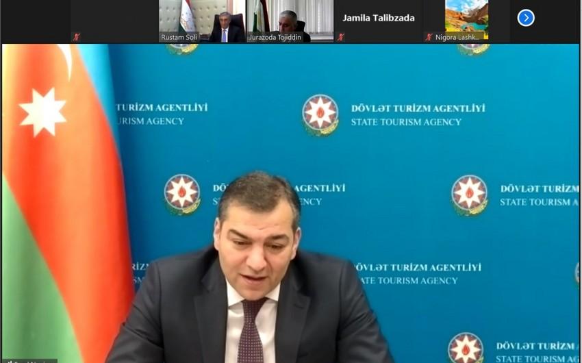 Azərbaycan və Tacikistan turizm əlaqələrinin inkişafını müzakirə edib