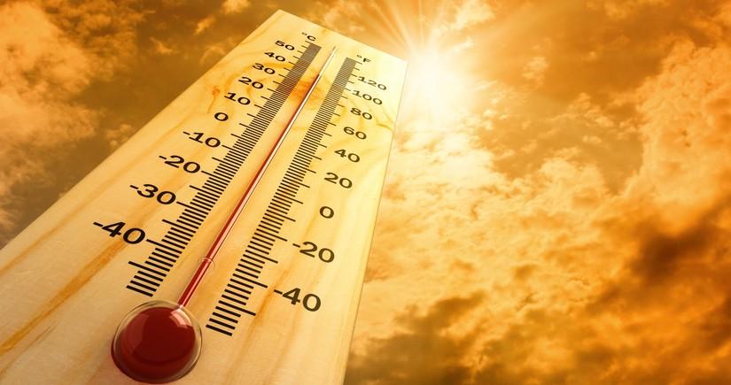 Завтра воздух прогреется до 35 градусов