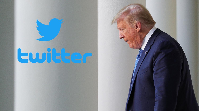 """""""Twitter"""" Trampın fotosunu sildi"""