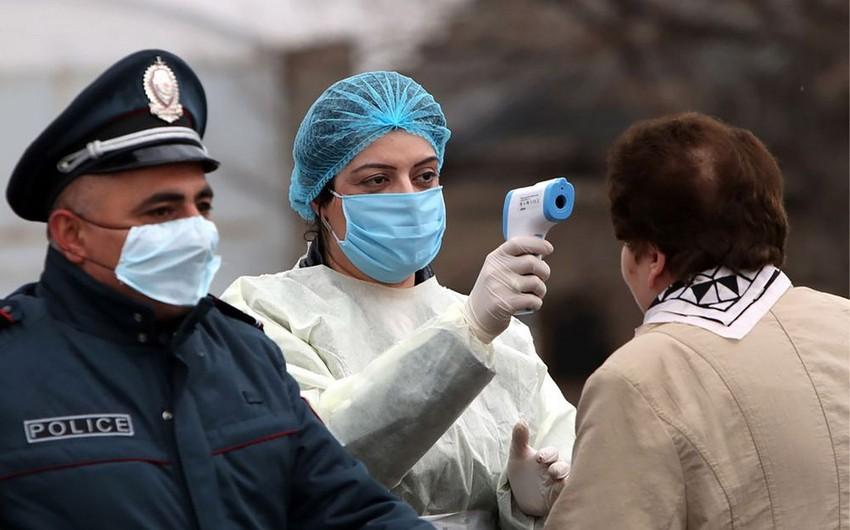 Ermənistanda koronavirusa yoluxanların sayı  -