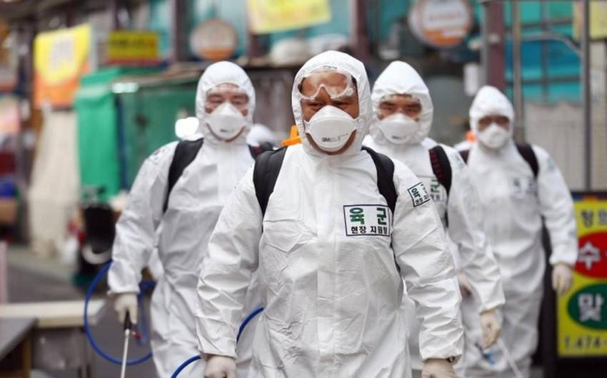 Cənubi Koreyada koronavirusa yoluxmada yeni antirekord
