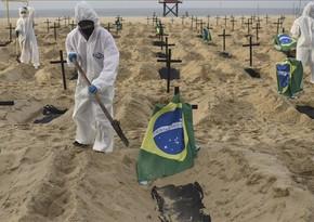 В Бразилии за сутки выявили более 52 тысяч случаев коронавируса
