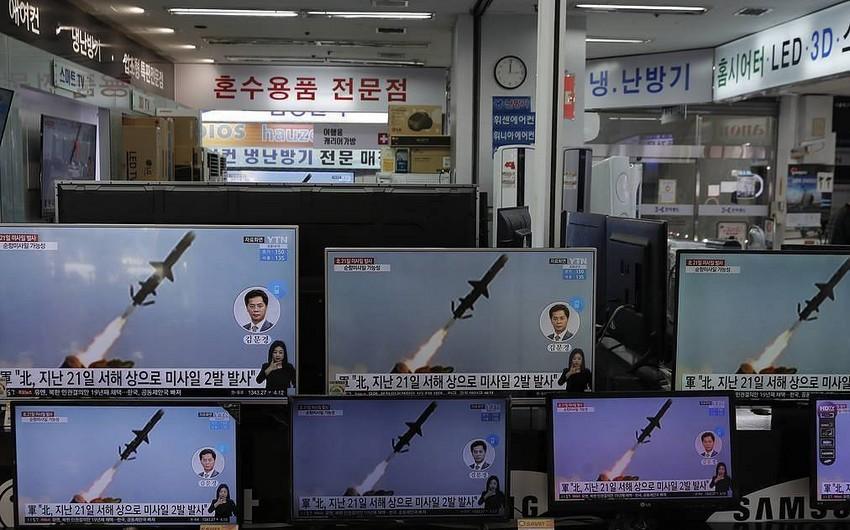 KXDR yeni uzaq mənzilli raketləri sınaqdan keçirib