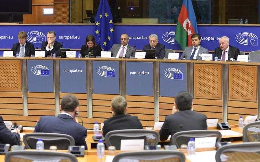 Avropa İttifaqı-Azərbaycan Parlament Əməkdaşlıq Komitəsinin XIV iclası başa çatıb