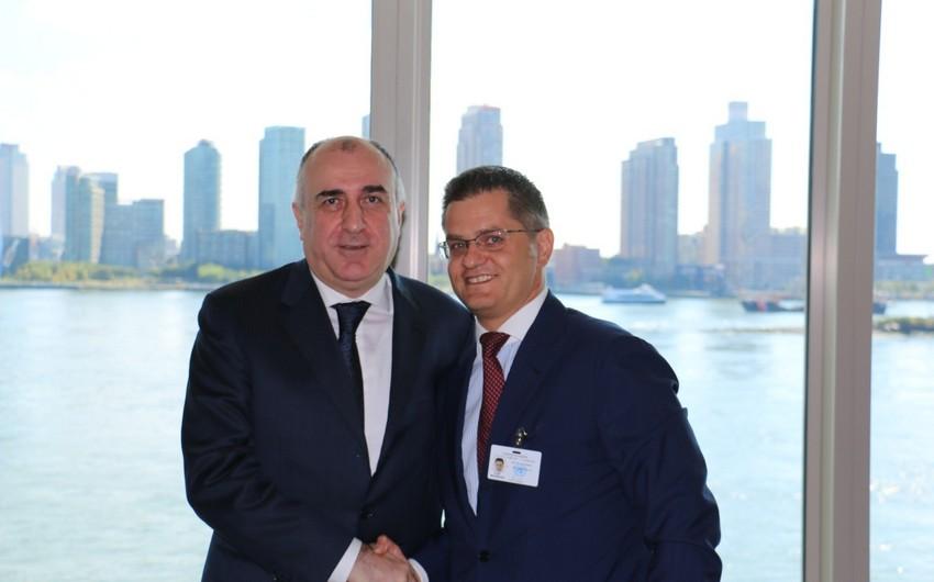 Elmar Mammadyarov meets CIRSO president