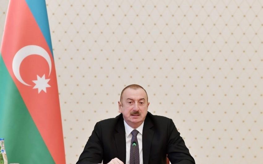 Azərbaycan Prezidenti: İnflyasiya ən aşağı səviyyədədir