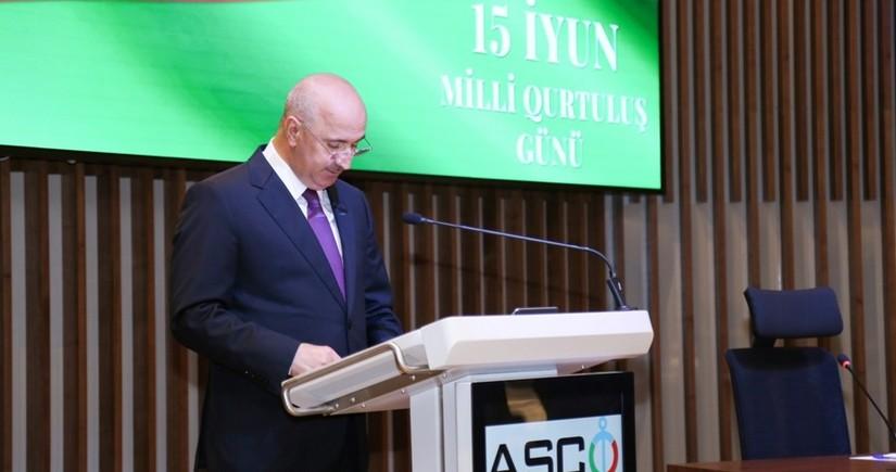 ASCO-nun sədri: Əməkdaşlarımız arasında YAP üzvlərinin sayı artır