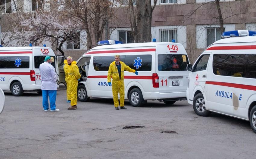 В Армении число выявленных случаев COVID-19 выросло на 1 174