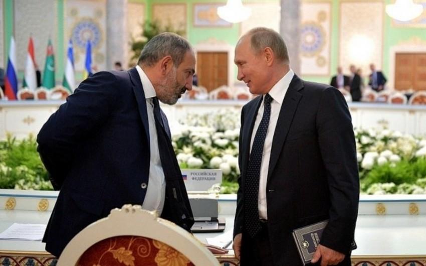 Kreml Putin və Paşinyan arasında keçiriləcək danışıqların əsas mövzularını açıqlayıb