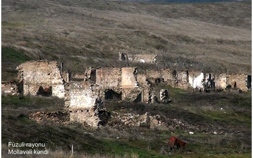 Füzulinin Mollavəli kəndi