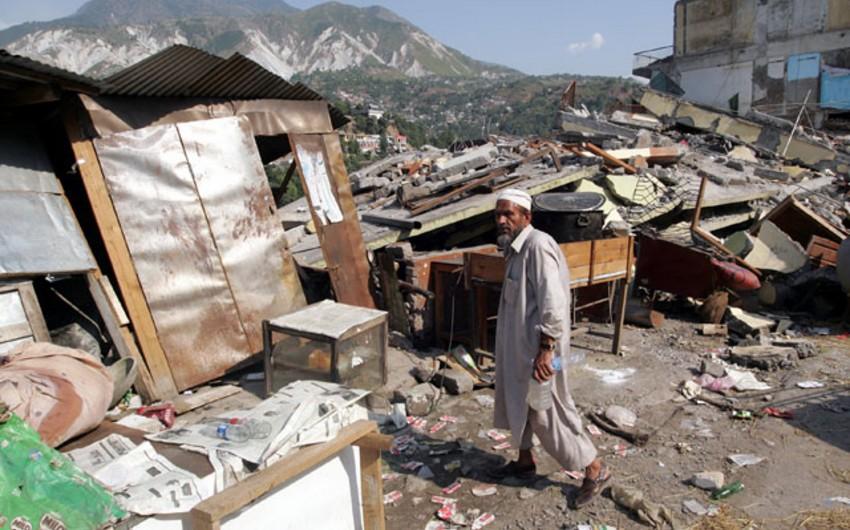 Pakistanda zəlzələ nəticəsində 2 nəfər ölüb