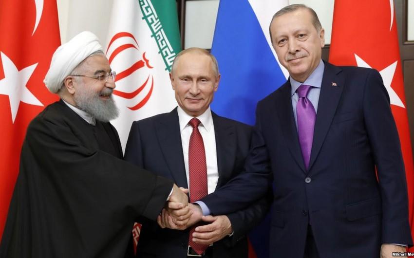 Türkiyə, İran və Rusiya prezidentlərinin görüş tarixi açıqlanıb