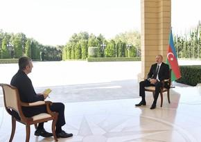 Prezident İlham Əliyev Rusiya, İran və ABŞ-ın mövqeyini şərh edib