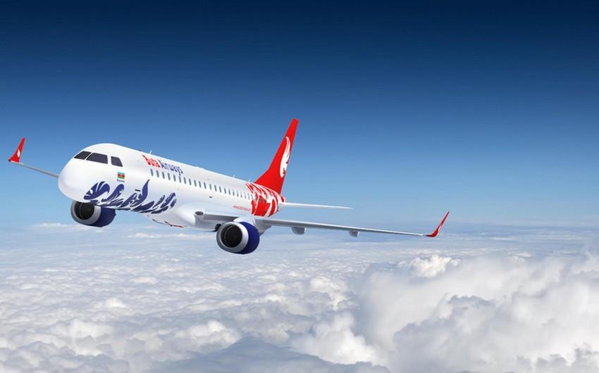 Самолет Buta Airways вернулся в Баку из-за резкого ухудшения состояния одного из пассажиров на борту