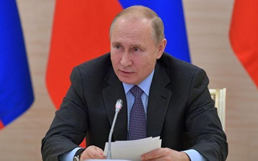 Vladimir Putin ABŞ-la danışıqlara məhdudiyyət qoyub