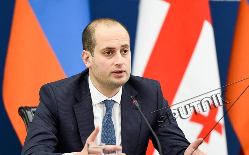 Gürcüstan XİN başçısı Yerevana gedib