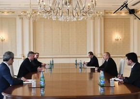 Ilham Aliyev receives State Secretary to French Minister for Europe and Foreign Affairs