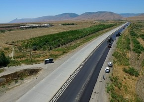 Vətən müharibəsindən sonra Tərtərdə yol infrastrukturu bərpa edilir