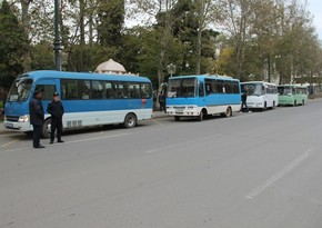 Azerbaijan to suspend public transport in two cities and eight regions