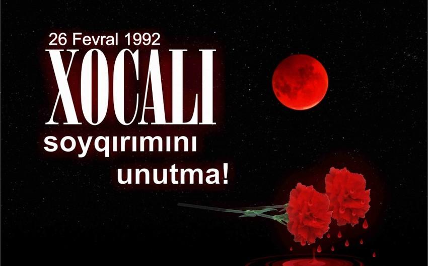 Azərbaycan Prezidenti Xocalı soyqırımının 25-ci ildönümü ilə bağlı sərəncam imzalayıb