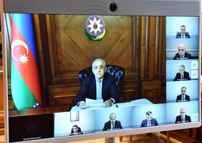 Meeting held under chairmanship of Prime Minister Ali Asadov