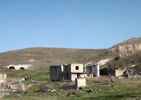 Видеокадры из села Хамзели Губадлинского района