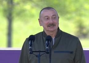 Президент Азербайджана: Отныне фестиваль Хары бюльбюльбудет проводится в Шуше каждый год
