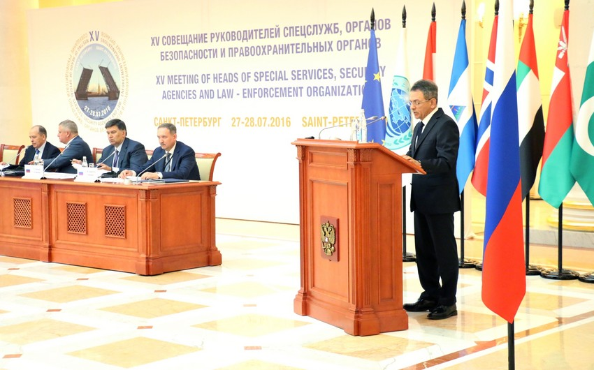 Madat Guliyev attends St.Petersburg meeting of heads of special services