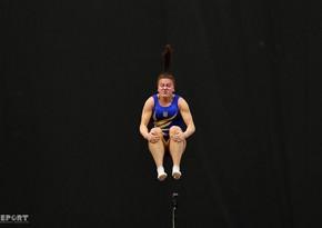 В Баку завершился Кубкок мира по батутной гимнастике и тамблингу