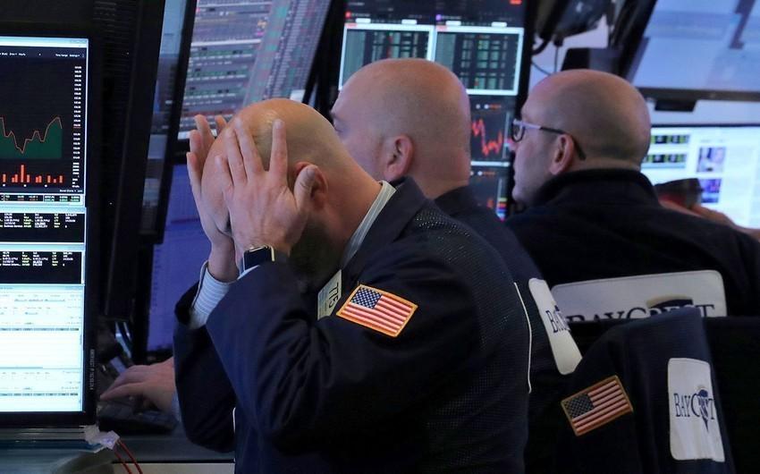Индексы на биржах США снизились