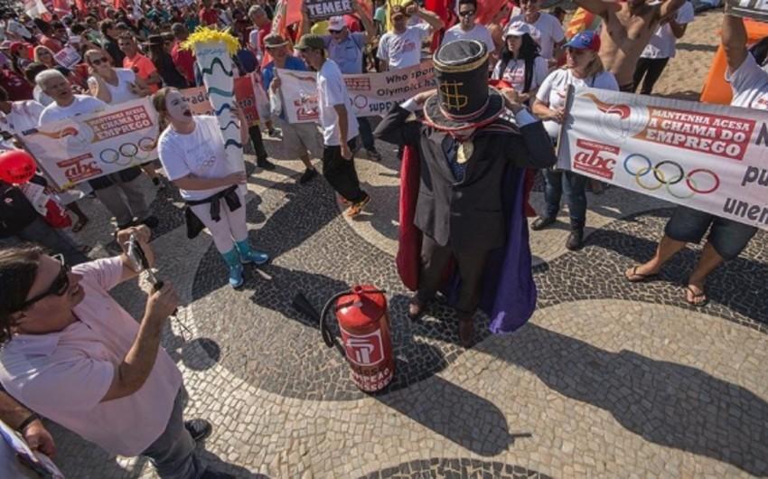 Rio-de-Janeyroda dinc nümayişlərə icazə verilib