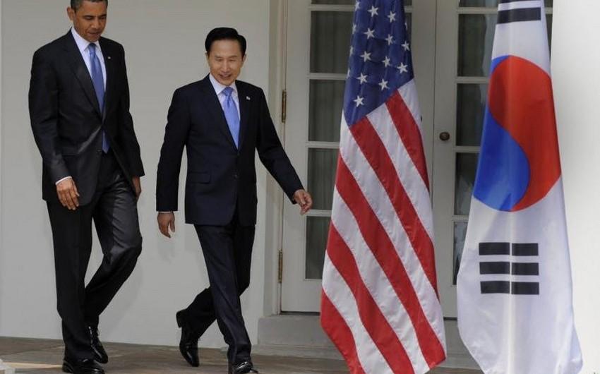 ABŞ və Cənubi Koreya prezidentləri: Şimali Koreya cəzalandırılmalıdır