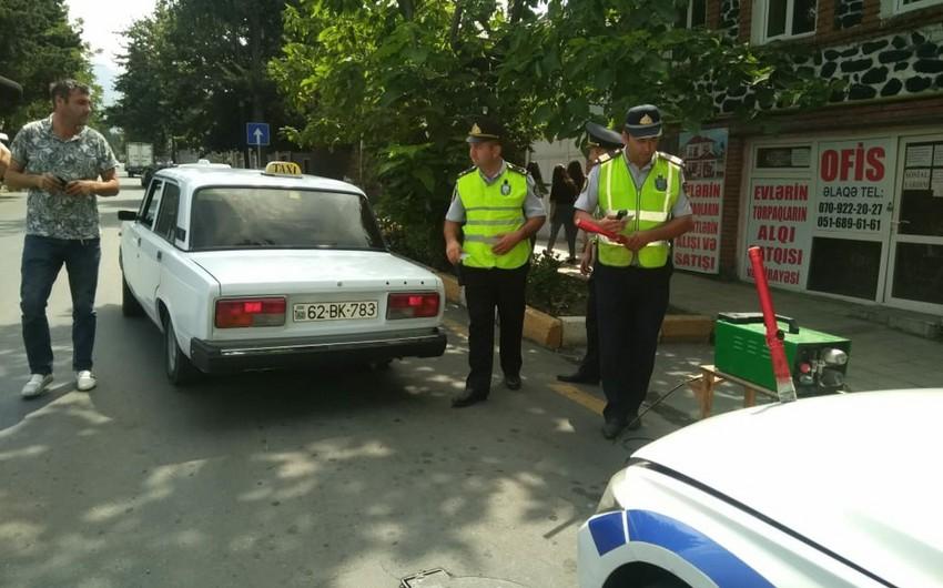 Дорожная полиция провела рейд в Тертере, оштрафовано 30 водителей