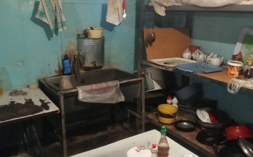 AQTA nöqsanlar aşkarlanan restoranı bağladı