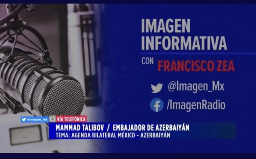 Meksika radiosunda ərazilərimizin azad edilməsi barədə məlumat verilib