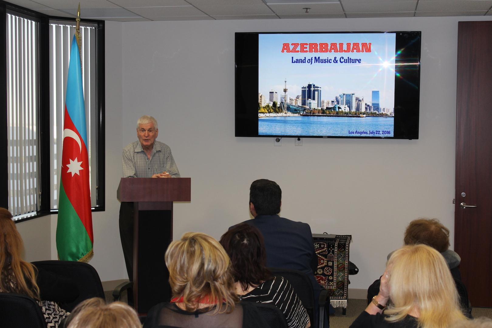 Azerbaijani Classical Music discussed in Los Angeles
