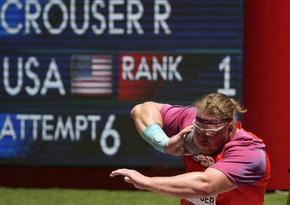 Tokio-2020: ABŞ atleti olimpiya rekordunu qırıb