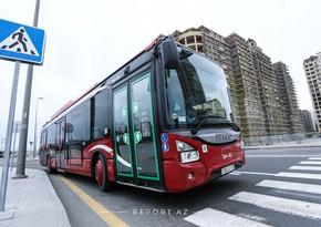 В Баку пассажирские автобусы будут работать в праздничные дни