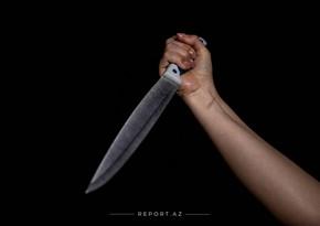 Samuxda bıçaqlanma olub