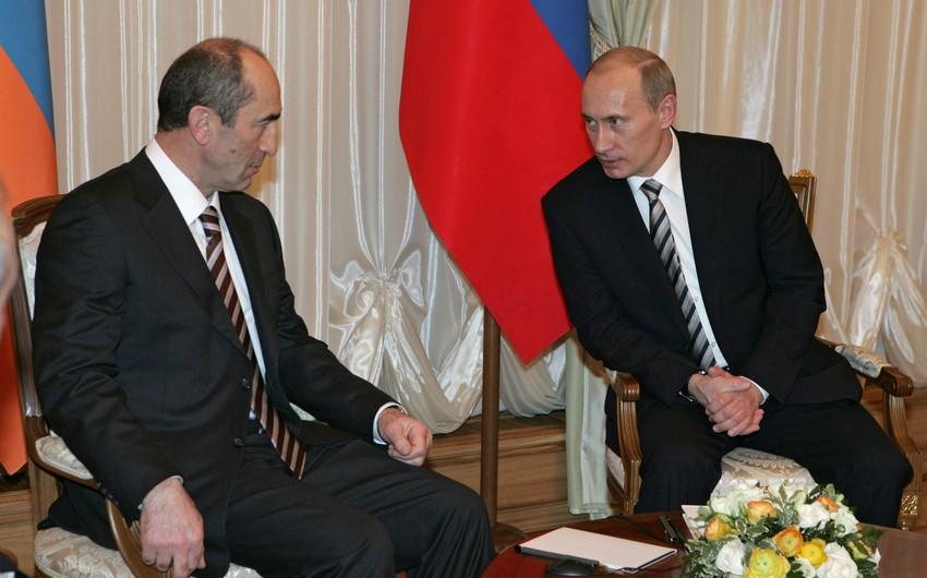 Putin Koçaryanla videoformatda görüşüb