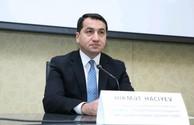 Whoever saves one life, saves the world: Hikmet Hajiyev thanked Israel
