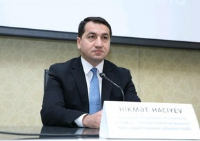 Hikmet Hajiyev: We demand justice for innocent victims of Khojaly genocide